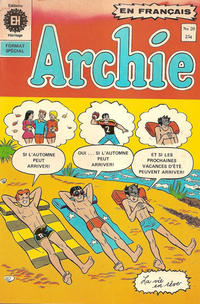 Cover Thumbnail for Archie (Editions Héritage, 1971 series) #20