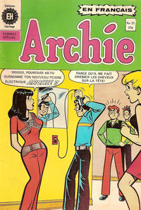 Cover Thumbnail for Archie (Editions Héritage, 1971 series) #21