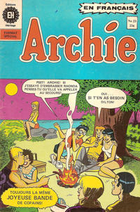 Cover Thumbnail for Archie (Editions Héritage, 1971 series) #23