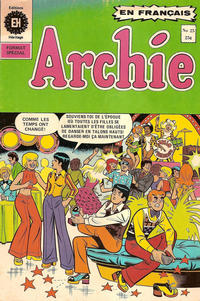 Cover Thumbnail for Archie (Editions Héritage, 1971 series) #25