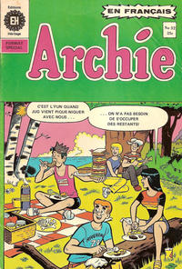 Cover Thumbnail for Archie (Editions Héritage, 1971 series) #32