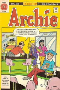 Cover Thumbnail for Archie (Editions Héritage, 1971 series) #105