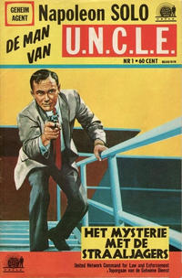 Cover Thumbnail for Napoleon Solo de Man van U.N.C.L.E. (Semic Press, 1967 series) #1