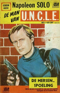 Cover for Napoleon Solo de Man van U.N.C.L.E. (Semic Press, 1967 series) #4