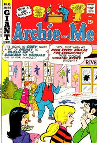 Cover Thumbnail for Archie and Me (Archie, 1964 series) #45