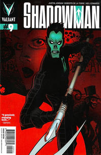 Cover Thumbnail for Shadowman (Valiant Entertainment, 2012 series) #9 [Cover B - Andrew Robinson]
