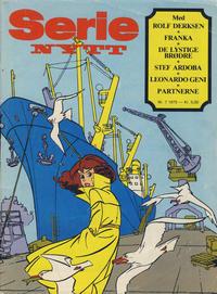 Cover Thumbnail for Serie-nytt (Serieforlaget / Se-Bladene / Stabenfeldt, 1978 series) #7/1979