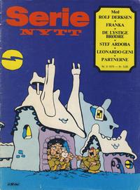 Cover Thumbnail for Serie-nytt (Serieforlaget / Se-Bladene / Stabenfeldt, 1978 series) #8/1979