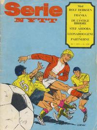 Cover Thumbnail for Serie-nytt (Serieforlaget / Se-Bladene / Stabenfeldt, 1978 series) #1/1978