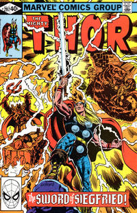 Cover Thumbnail for Thor (Marvel, 1966 series) #297 [Direct Edition]