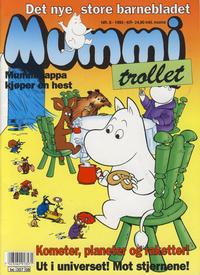 Cover Thumbnail for Mummitrollet (Semic, 1993 series) #8/1993