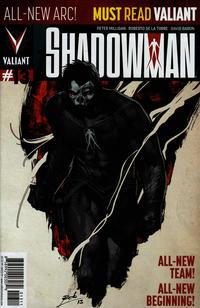 Cover Thumbnail for Shadowman (Valiant Entertainment, 2012 series) #13 [Cover A - Roberto de la Torre]