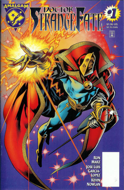 Cover for Doctor Strangefate (DC, 1996 series) #1 [Blank UPC Edition]