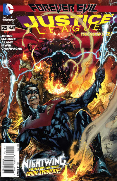 Cover for Justice League (DC, 2011 series) #25