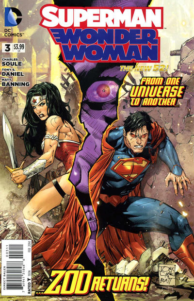 Cover for Superman / Wonder Woman (DC, 2013 series) #3