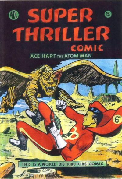 Cover for Super Thriller Comic (World Distributors, 1947 series) #30