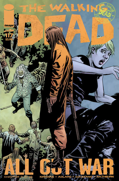 Cover for The Walking Dead (Image, 2003 series) #117 [2nd Printing]