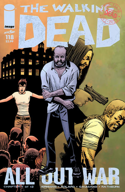 Cover for The Walking Dead (Image, 2003 series) #118