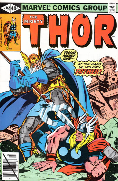 Cover for Thor (Marvel, 1966 series) #292