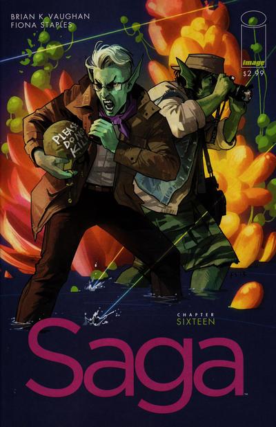 Cover for Saga (Image, 2012 series) #16