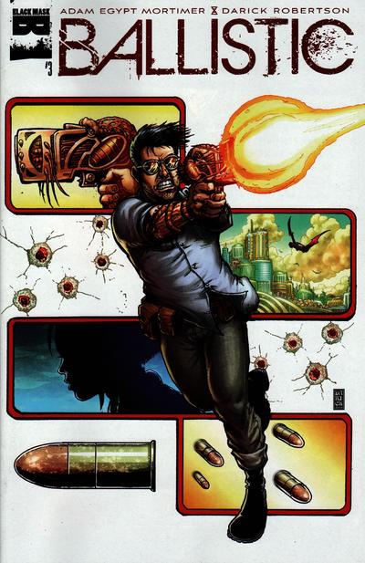 Cover for Ballistic (Black Mask Studios, 2013 series) #3