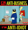 Cover for Dilbert (Andrews McMeel, 1994 ? series) #11 - I'm Not Anti-Business, I'm Anti-Idiot