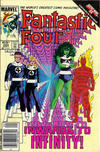 Cover Thumbnail for Fantastic Four (1961 series) #282 [Newsstand]