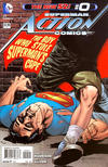 Cover Thumbnail for Action Comics (2011 series) #0 [Rags Morales Cover]