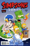 Cover for Simpsons Comics (Bongo, 1993 series) #207