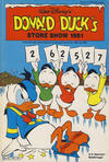 Cover for Donald Duck's Show (Hjemmet, 1957 series) #[40] - Store show 1981