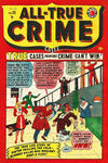 Cover for All True Crime Cases Comics (Bell Features, 1948 series) #33