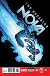 Cover for Nova (Marvel, 2013 series) #7