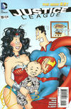 Cover for Justice League (DC, 2011 series) #19 [Mad Magazine Variant by Sergio Aragonés]