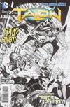 Cover Thumbnail for Talon (2012 series) #9 [Miguel Sepulveda Black and White Cover]