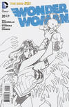 Cover for Wonder Woman (DC, 2011 series) #20 [Sketch Cover]