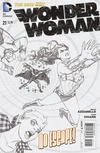 Cover for Wonder Woman (DC, 2011 series) #21 [Sketch Cover]
