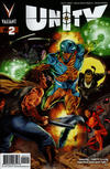 Cover for Unity (Valiant Entertainment, 2013 series) #2 [Cover A - Doug Braithwaite]