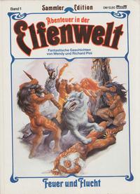 Cover Thumbnail for Abenteuer in der Elfenwelt (Bastei Verlag, 1990 series) #1 - Feuer und Flucht