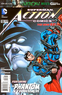 Cover Thumbnail for Action Comics (DC, 2011 series) #13 [Rags Morales Cover]