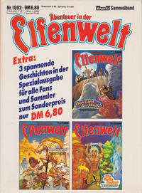 Cover Thumbnail for Abenteuer in der Elfenwelt (Bastei Verlag, 1984 series) #1002