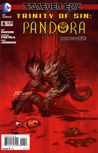 Cover Thumbnail for Trinity of Sin: Pandora (DC, 2013 series) #6