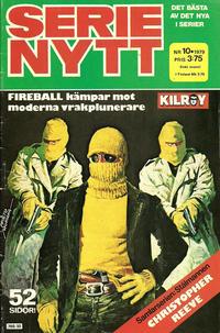 Cover Thumbnail for Serie-nytt [delas?] (Semic, 1970 series) #10/1979