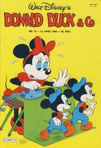 Cover Thumbnail for Donald Duck & Co (Hjemmet / Egmont, 1948 series) #15/1982