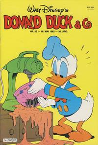 Cover Thumbnail for Donald Duck & Co (Hjemmet / Egmont, 1948 series) #20/1982