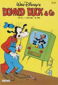 Cover Thumbnail for Donald Duck & Co (Hjemmet / Egmont, 1948 series) #22/1982