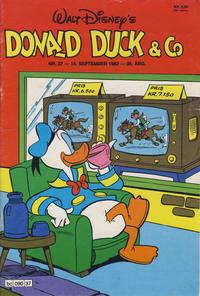 Cover Thumbnail for Donald Duck & Co (Hjemmet / Egmont, 1948 series) #37/1982