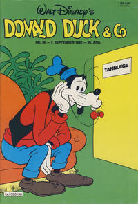 Cover Thumbnail for Donald Duck & Co (Hjemmet / Egmont, 1948 series) #36/1982