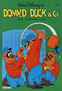 Cover Thumbnail for Donald Duck & Co (Hjemmet / Egmont, 1948 series) #33/1982