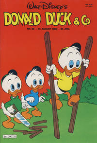 Cover Thumbnail for Donald Duck & Co (Hjemmet / Egmont, 1948 series) #32/1982