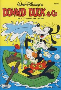 Cover Thumbnail for Donald Duck & Co (Hjemmet / Egmont, 1948 series) #31/1982